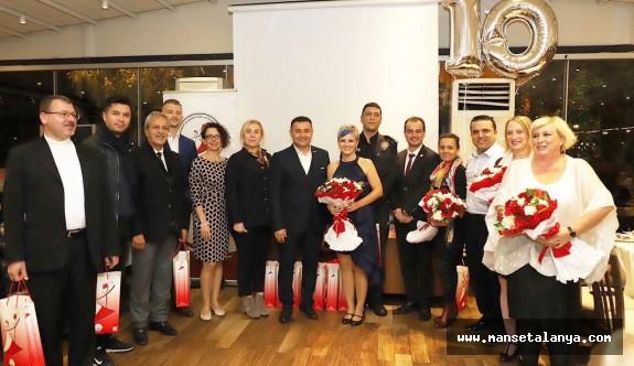 Alanya Polonyalılar derneği 10.yılını kutladı!