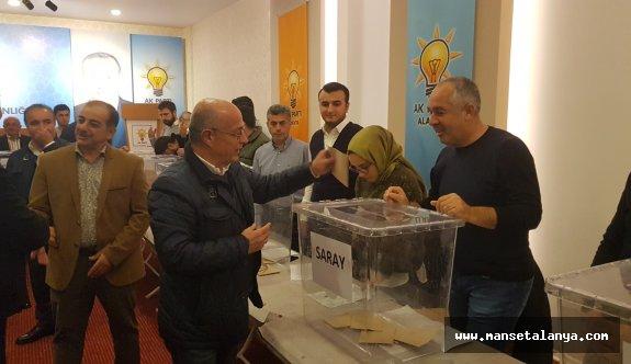 Alanya'da delege seçimi tamamladı