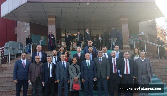 Alanyalı sağlıkçılar Konya'da