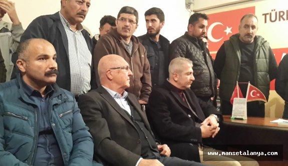 İYİ Parti ve CHP'li vekiller Antalyalı kamyoncuları dinledi!