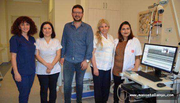 Alanya'da nörolojik hastalığı olanlara müjde