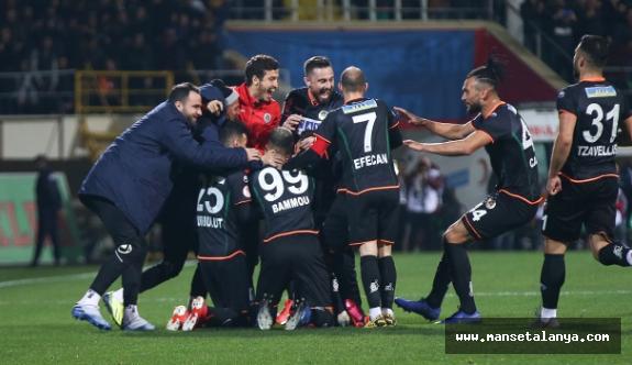 Alanyaspor 2- Galatasaray 0
