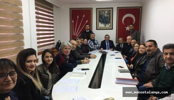 CHP'de gündem T-Mahmuz!