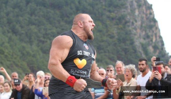 Dünyanın en güçlü adamları Alanya'ya geliyor