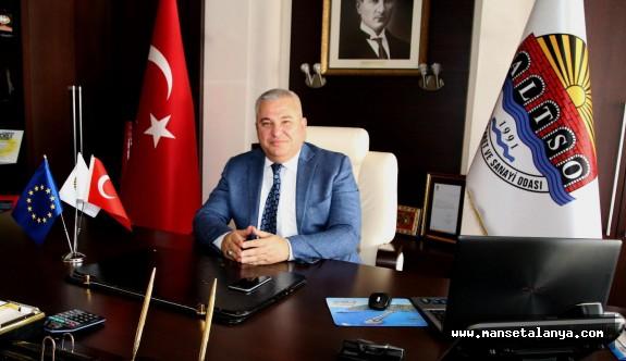 ALTSO Başkanı Şahin'den uyarı