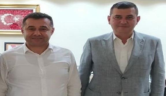 Başkan Yücel'e esnafların ardından bir destekte partisinden geldi!