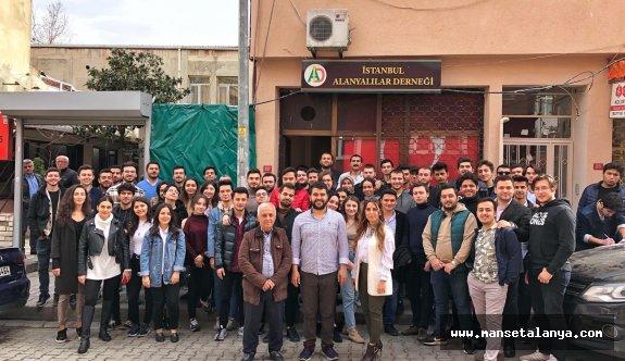 İstanbul'daki Alanyalılar bir araya geldi