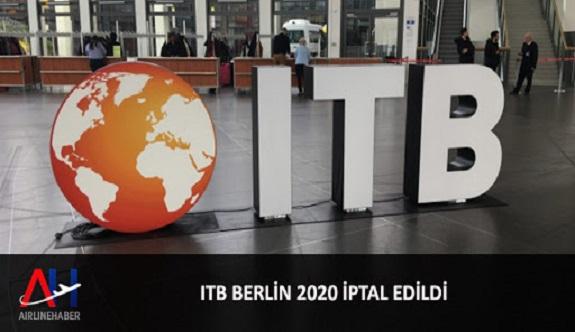 ITB Berlin iptal edildi!