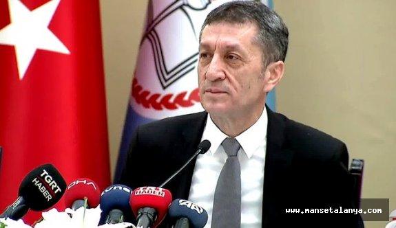 Milli Eğitim Bakanı Selçuk'tan EBA TV'deki görüntüyle ilgili açıklama