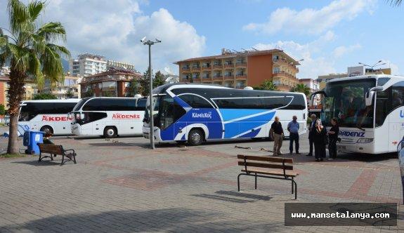 Otogar'da peron emirleri yenilendi