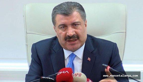 Sağlık Bakanı: Bugün 9 yeni vefat, 289 yeni tanı var