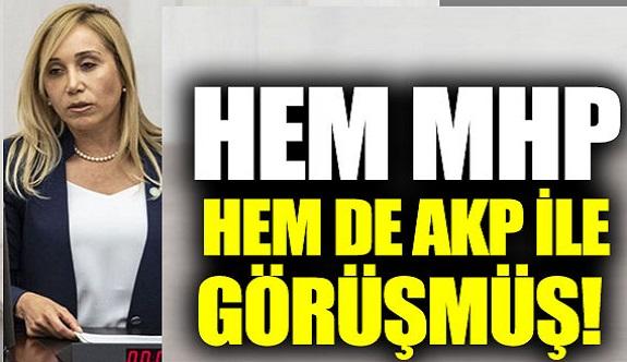Tuba Vural Çokal, hem MHP hem de AKP ile görüşmüş!