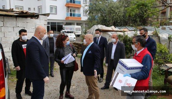 ALTSO, Alanya da ihtiyaç sahibi 1500 aileye ulaşacak!