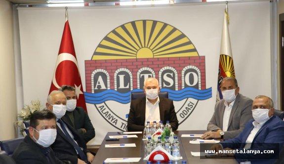ALTSO Başkanı Şahin'den bankalara bir uyarı da daha geldi
