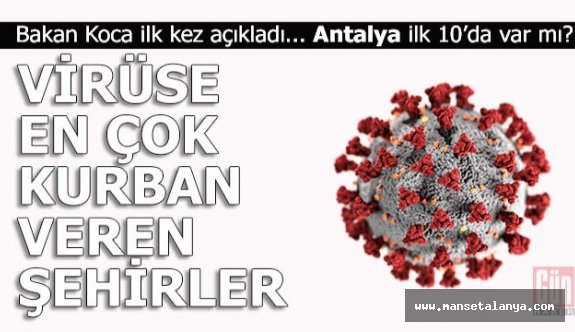 Antalya ilk 10'da var mı?