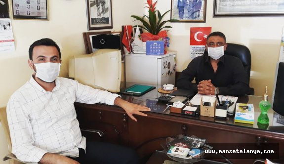 Ak Parti İlçe Başkanı Toklu, Manşet Alanya'da