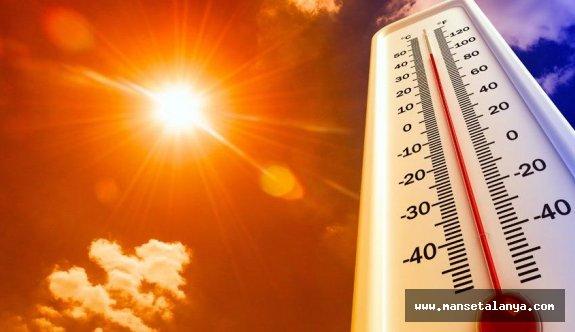 Alanya'da sıcaklık rekoru kırıldı