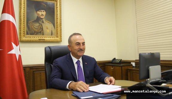 """Çavuşoğlu""""Bu yaz Alman dostlarımızı güvenli ve huzurlu bir tatil için Türkiye'ye bekliyoruz"""""""