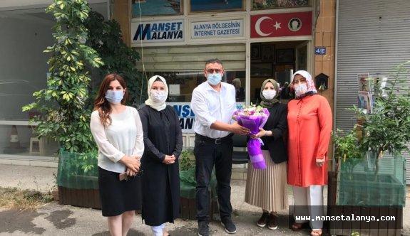 Ak Parti kadın kolları Manşet Alanya'da!