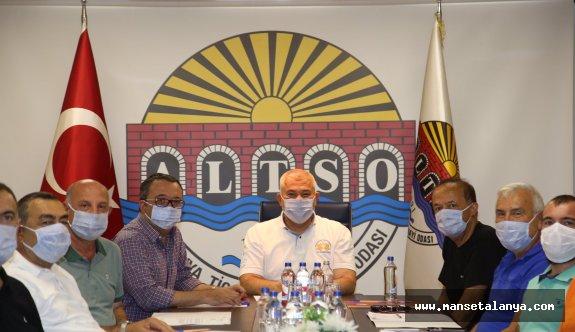 ALTSO Başkanı Şahin: Alanyasporumuzun yanındayız!
