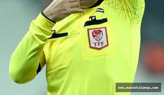 İşte Ankaragücü-Alanyaspor maçının hakemi!