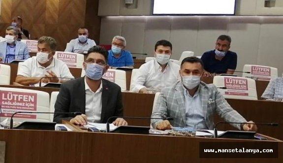 Alanya'dan 3 isim Antalya'da komisyonda