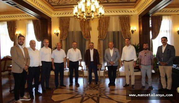 ALTSO heyetinden Antalya protokolüne ziyaret