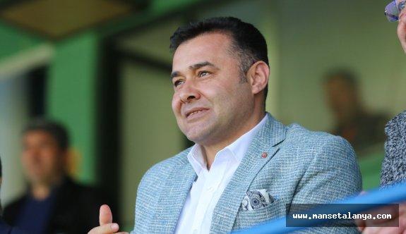 Başkan Yücel'den Alanyaspor ve Kestelspor açıklaması!
