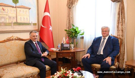 Ukrayna büyükelçisinden Türkiye ve Antalya açıklaması