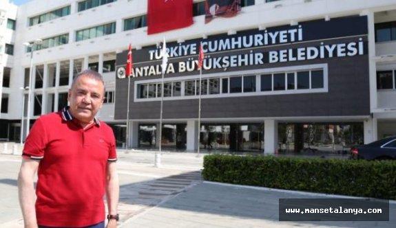Antalya Büyükşehir'e girişler sınırlandırıldı