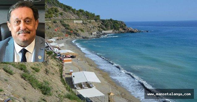 Antalya milletvekili Özer, Aysultan kadınlar plajının kiralanmasına tepki gösterdi!