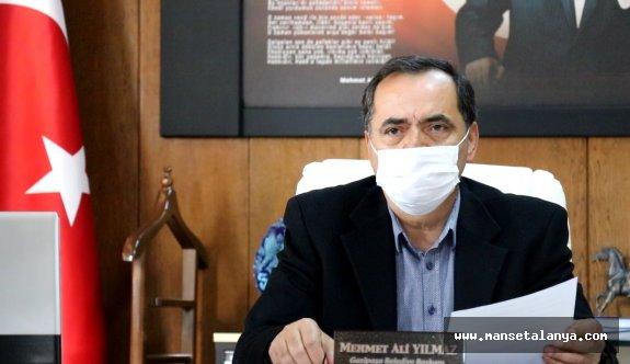 Gazipaşa belediye başkanı izolede. Böcek ile temasta bulundu!