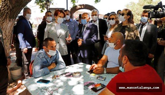 """İYİ Parti Lideri Akşener'den, Bahçeli'nin """"Evine dön"""" açıklamasına yanıt:"""