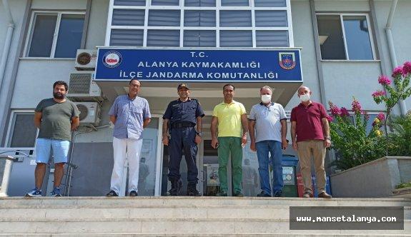 Jandarma, Alanyalı otelcileri ağırladı