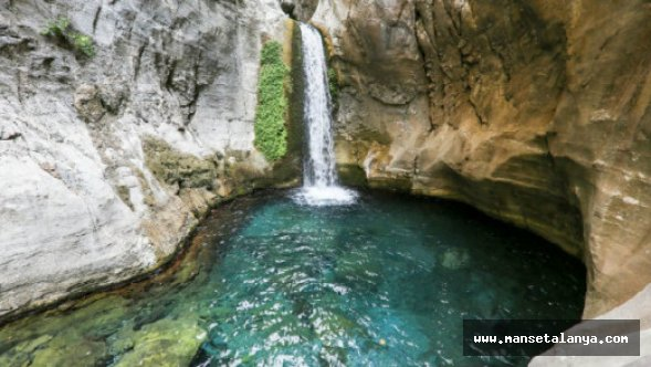 Sapadere kanyonundaki havuzda akıl almaz olay!