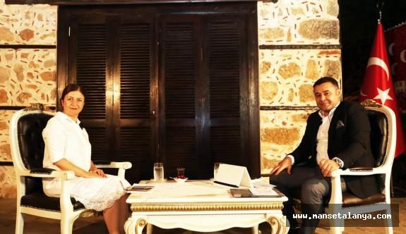Başkan Yücel Covid le mücadelesini canlı yayında anlattı!
