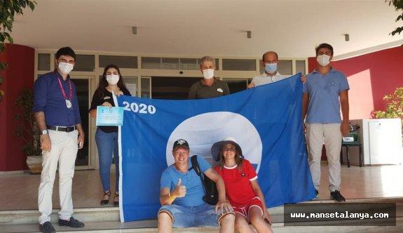 Alanya'daki halk plajlarına mavi bayrak denetimi