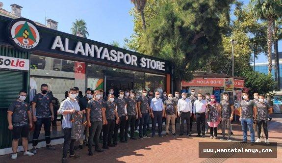 Alanyalı ülkücülerden Mehmetçiğe destek!