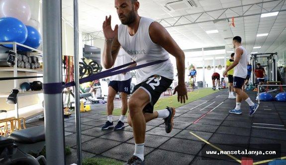 Alanyaspor Fitnesde çalıştı