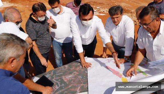Antalya-Alanya otoban projesini incelediler!