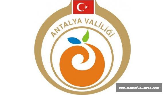 Antalya Valiliği duyurdu!