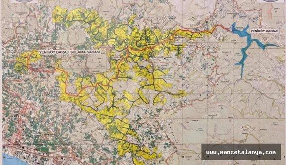 Baraj için kamulaştırılacak: 150 bin m2 4 milyon TL!