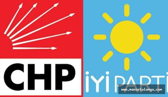 CHP ve İyi Parti'nin Antalya ittifakı
