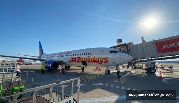 İki ayda Antalya'ya gelen ziyaretçi sayısı belli oldu