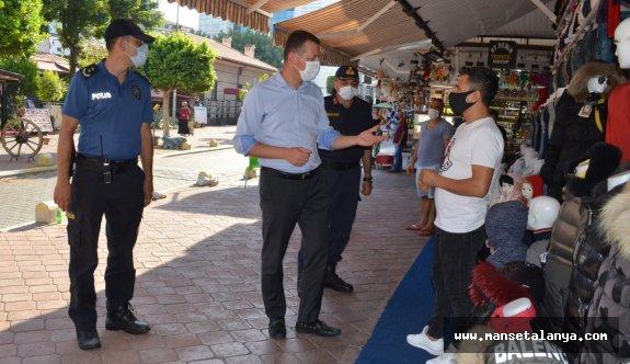Kaymakam Ürkmezer Alanya sağlığı için vatandaşları uyarıyor