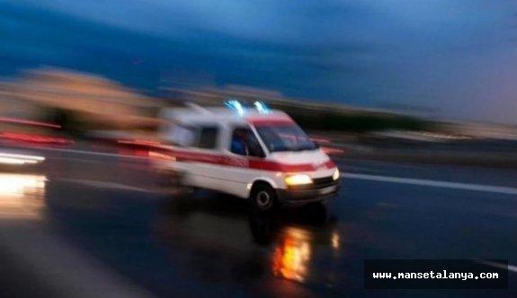 Alanya'da engelli kadın düşerek öldü