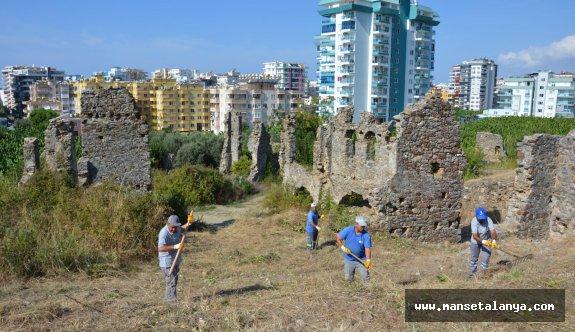Alanya'da Naula Antik Kenti temizleniyor!