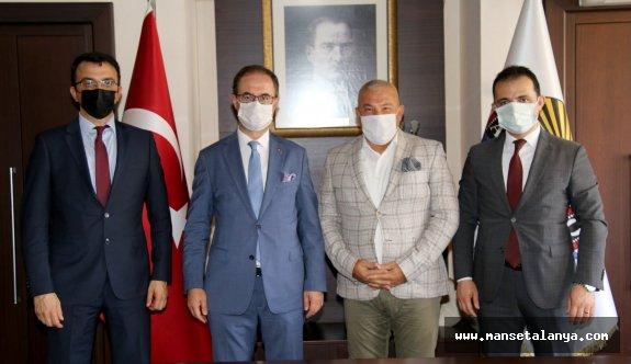 ALTSO Başkanı Şahin, vergi dairesi müdürlerini ağırladı!