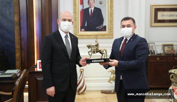 İçişleri Bakanı Süleyman Soyluya ziyaret!