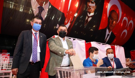 MHP il kongresi tamamlandı!